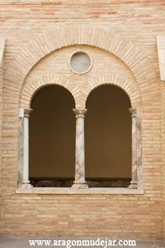 Convento de san salvador de pina de ebro - Vano arquitectura ...
