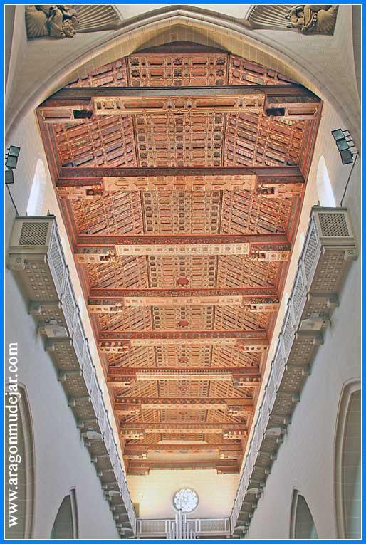 Resultado de imagen de artesonado Catedral Teruel